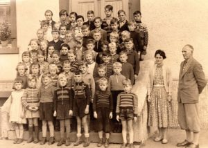Schulklassen 1957