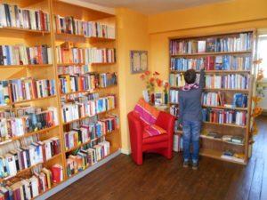 Die Jugendabteilung in der Gemeindebücherei Eckfeld