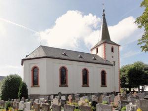 Die Filialkirche St. Katharina in Eckfeld