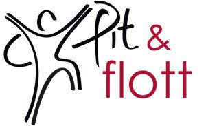 Logo Fit und flott