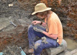 Ausgrabungsstätte am Trockenmaar