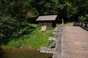 Die Blümchesau-Hütte an der Lieser