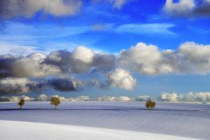 Winterstimmung - Blick Richtung Loog