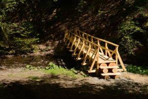 Brücke am Zwei-Bäche-Pfad Hasborn