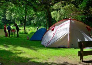 Zelten am Stolzbachweiher