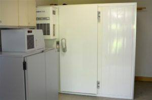 Kühlzelle im Gemeindesaal