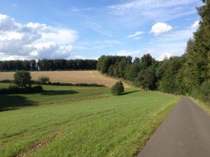 Hoarzbesch - auf dem Weg zum Wanderparkplatz Trockenmaar