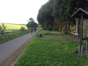 Der Maare-Mosel-Radweg bei Eckfeld