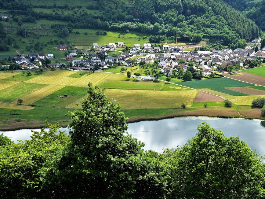 Meerfeld - Blick vom Landesblick