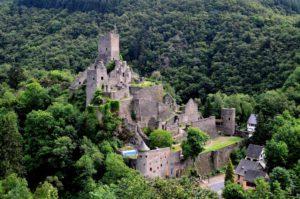 Niederburg - die untere der beiden Manderscheider Burgen