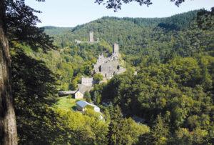 Die beiden Manderscheider Burgen