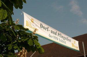 Banner Pfingstfest