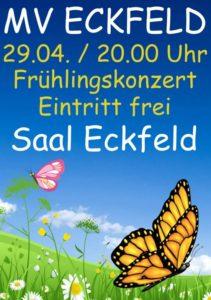 Poster Frühlingskonzert mv eckfeld