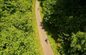 Der Maare-Mosel-Radweg bei Buchholz