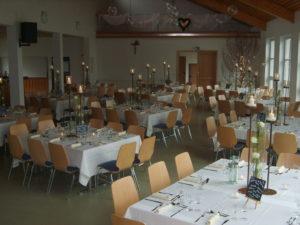Gemeindesaal Eindeckung