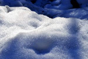 Schneekristalle - Nähe Häselhütte
