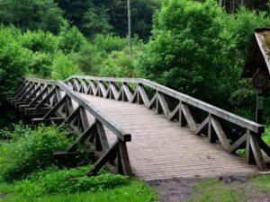 Die Urpferdbrücke an der Lieser