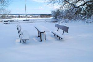 Winter an der Heidehütte
